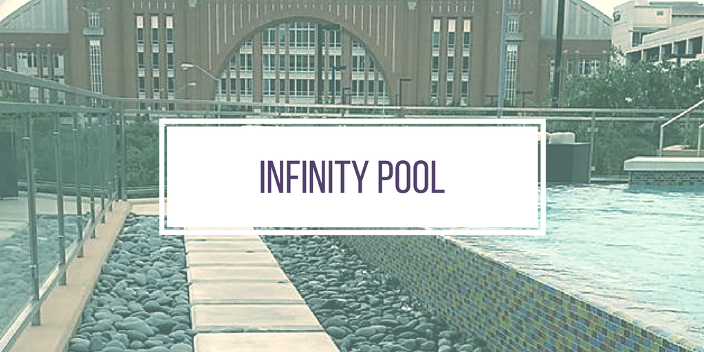 Infinitty Pool Drainage Trench Cover