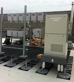 Composite telecom equipment platforms