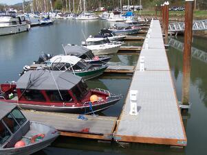 fiberglass dock
