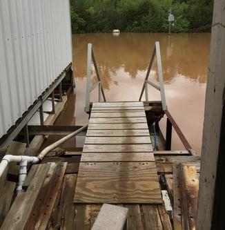 flooding decks