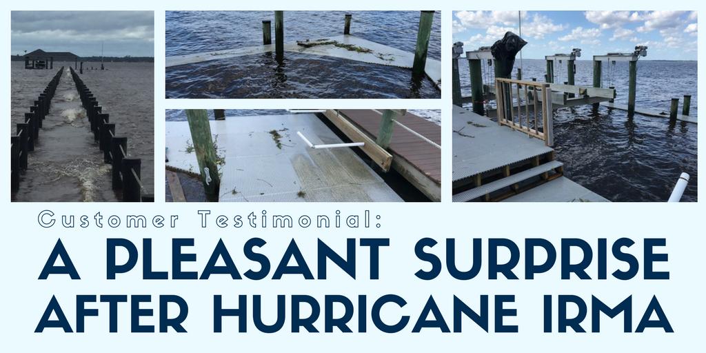 Customer Testimonial: Hurricane Irma